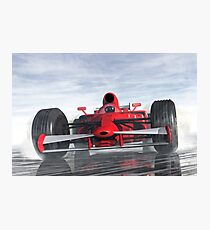 Racer Photographic Print