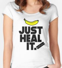 Just heal it Women's Fitted Scoop T-Shirt