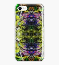 Symmetry Of Colour Abstract iPhone Case/Skin