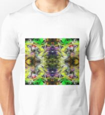 Symmetry Of Colour Abstract T-Shirt