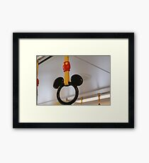 Mouse Handles Framed Print