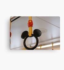 Mouse Handles Metal Print