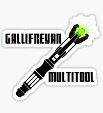 Dr Who - Gallifreyan MultiTool Sticker