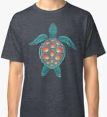 Mandala-Schildkröte Classic T-Shirt