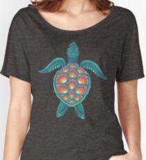 Mandala Turtle Women's Relaxed Fit T-Shirt