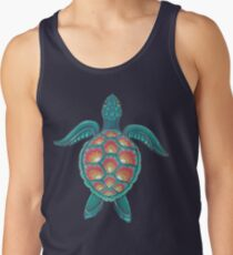 Mandala Turtle Men's Tank Top