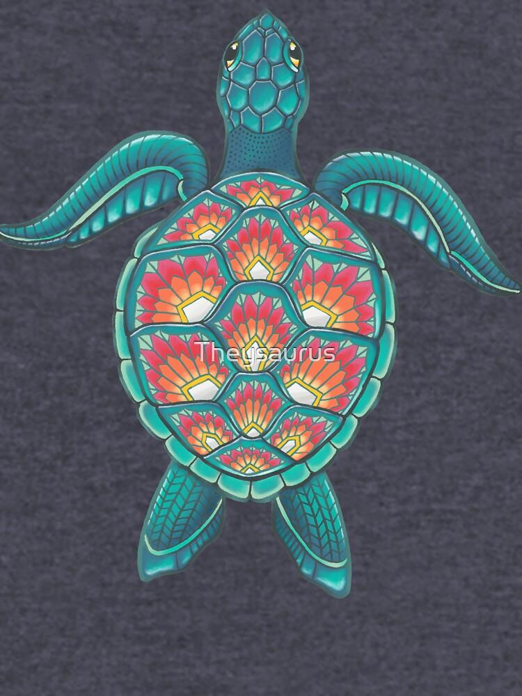 Mandala Turtle by Theysaurus