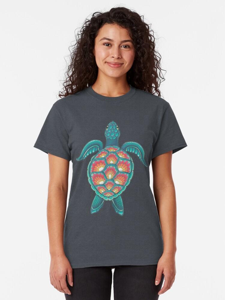 Alternate view of Mandala Turtle Classic T-Shirt