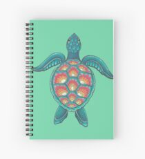 Mandala Turtle Spiral Notebook