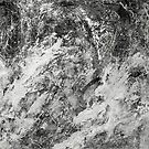 Black And White Tempest Abstract by Printpix