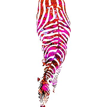 Abstract Zebra - version 3 by Supreto