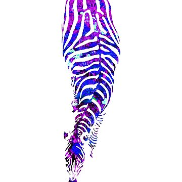 Abstract Zebra - version 4 by Supreto