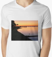 Dawn Men's V-Neck T-Shirt