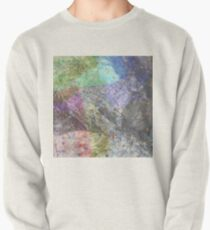 Multi Coloured Abstract Painting Pullover