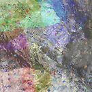 Multi Coloured Abstract Painting by Printpix
