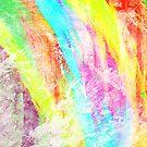 Abstract Rainbow #IX by Printpix