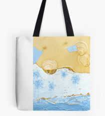 Bubble Flowers by the Puzzle Sea Tote Bag