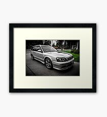 Quick Silver Twin Turbo Framed Print