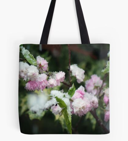 Frosted Almond Tote Bag