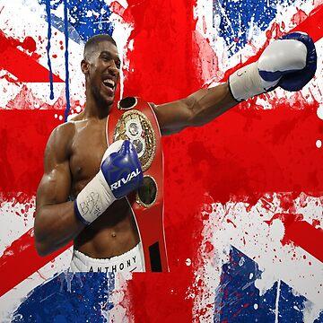 Anthony Joshua British Boxing World Champion  by RighteousOnix
