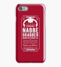 Nabbe Grabber iPhone Case/Skin