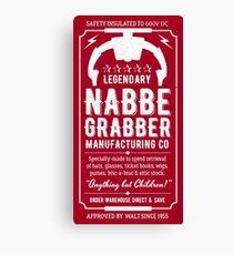 Nabbe Grabber Canvas Print