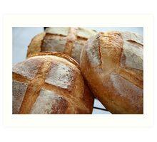 Crusty Loaves Art Print
