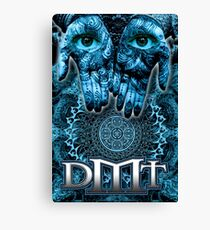 DMT - Blue Hands Canvas Print