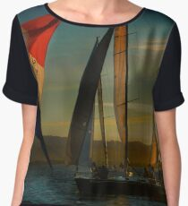 Where Spinnakers Come To Life Chiffon Top