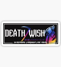 Death Wish JDM Slap Neo Sticker