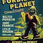 Vintage Sci-fi Movie Forbidden Planet, Robot by MaskedMarvel
