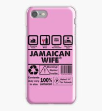 Product of Jamaica - Jamaican Wife iPhone Case/Skin