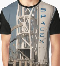 SpaceX First Stage Graphic T-Shirt