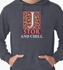 Jstor and Chill Lightweight Hoodie