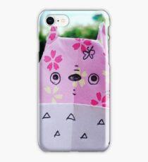 Paper Totoro iPhone Case/Skin