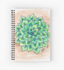 The Single Succulent Spiral Notebook