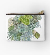 Succulent Obsession Zipper Pouch
