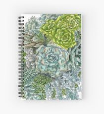 Succulent Obsession Spiral Notebook