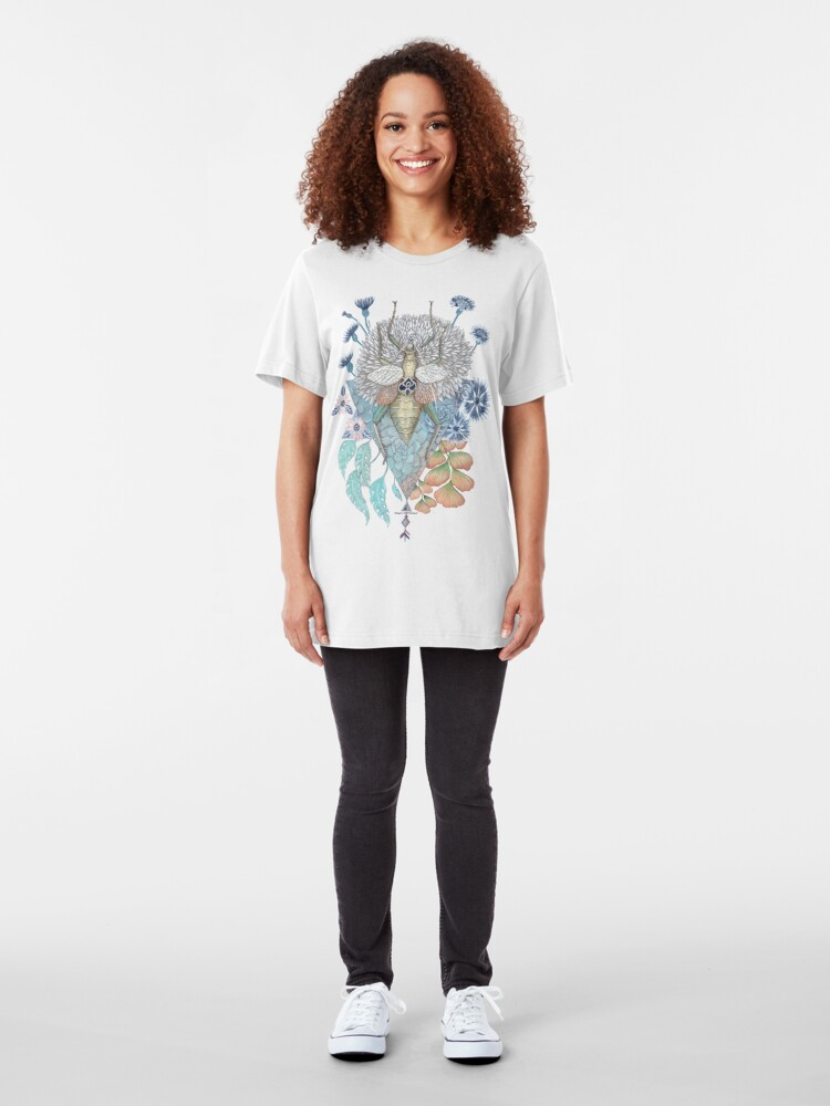 Alternate view of Key to other dimension Slim Fit T-Shirt