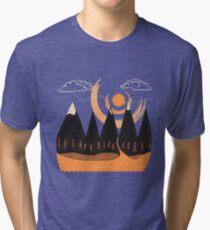Sunny Mountain Pass Tri-blend T-Shirt