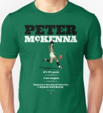 Peter McKenna, Collingwood  (this does not work on black or white shirts) Unisex T-Shirt
