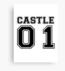 Castle 01 - Varsity Style Canvas Print