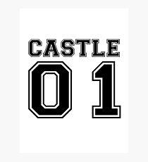 Castle 01 - Varsity Style Photographic Print