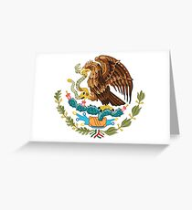 Mexique Armoiries Carte de vœux
