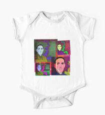 HP LOVECRAFT, AMERICAN GOTHIC WRITER, COLLAGE One Piece - Short Sleeve