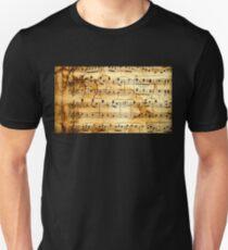 Old Sheet Music Unisex T-Shirt