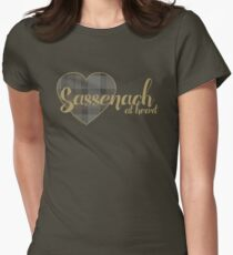 Sassenach at Heart Women's Fitted T-Shirt
