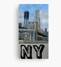 new york city, empire state building Canvas Print