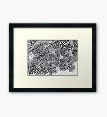 Doodle Park - Kerry Beazley Framed Print