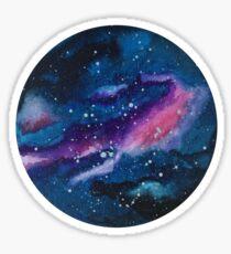 Purple Galaxy Sticker